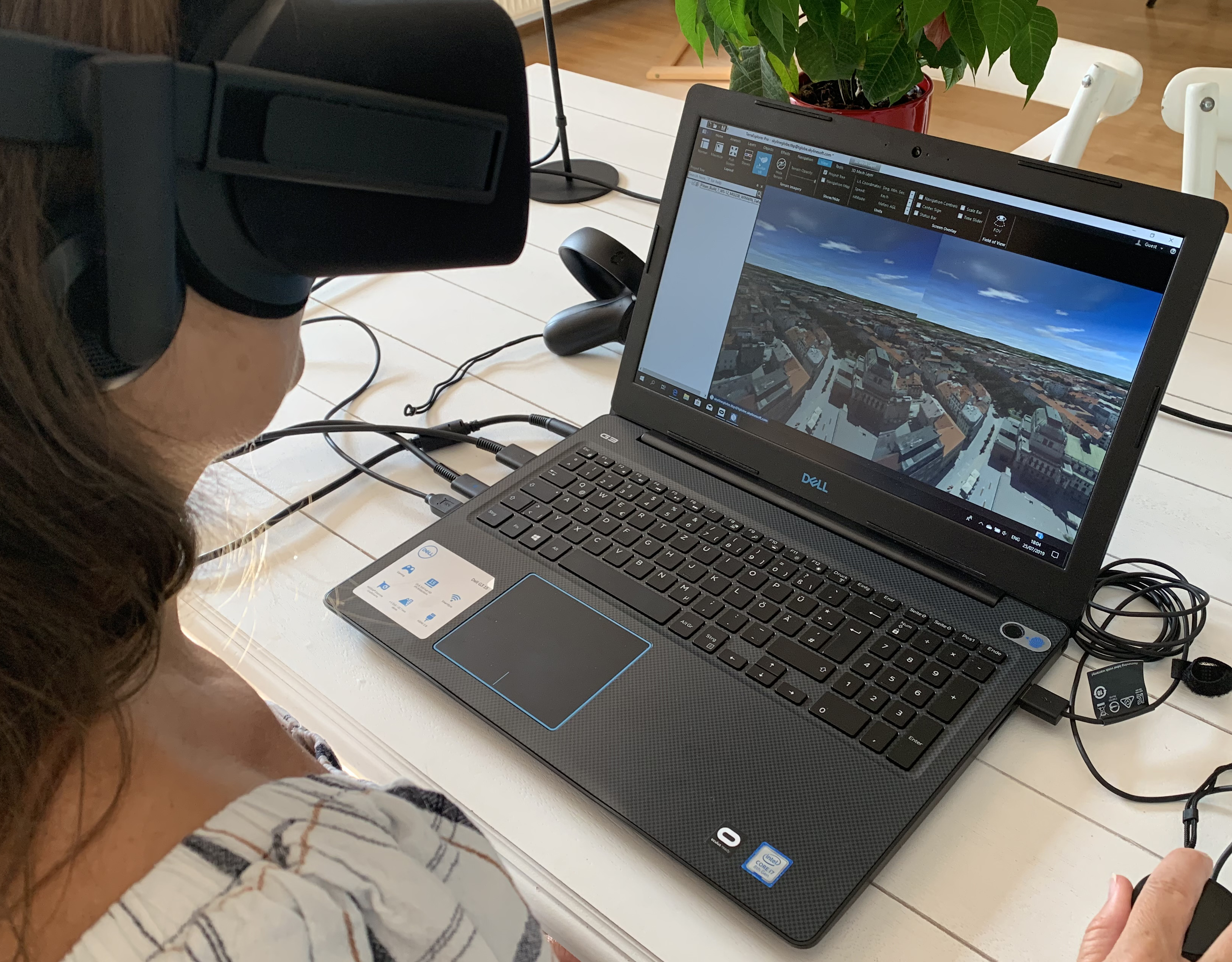 Using Occulous Rift VR with Skyline TerraExplorer Pro